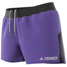 adidas TERREX Primeblue Trail Graphic Shorts Women semi night flash